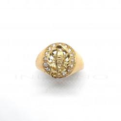 Sello Oro Escorpión CirconitasP023400166