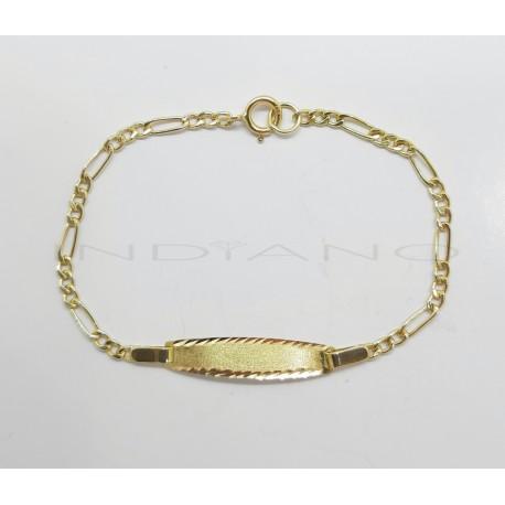Esclava Oro Bebe Cartier 3x1
