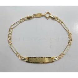Esclava Oro Bebe Hungaro y CartierP010300296