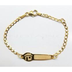 Esclava Oro Bilbaina Dibujo CasaP011000497