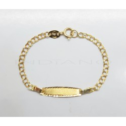 Esclava Oro Bebe Eslabón HungaroP022400159