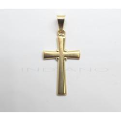 Cruz Oro Lisa Plana MatizadaP023001371
