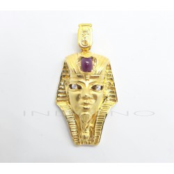 Colgante Oro Esfinge RubiP007700253