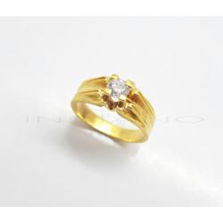 Solitario Oro BrillanteP005500914