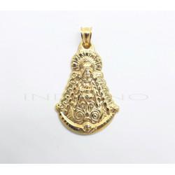 Medalla Oro Silueta Virgen del RocíoP010300147