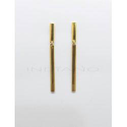 Pendientes Oro Doble Barra Plana LisaP005504900