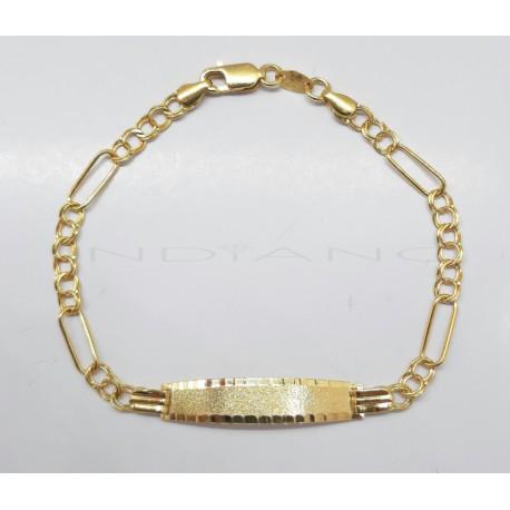 Esclava Oro Húngaro y Cartier