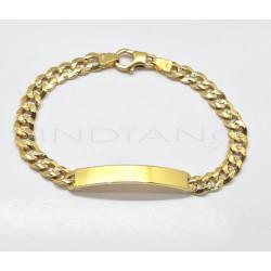Esclava Oro Bilbaina LapidadaP007701240