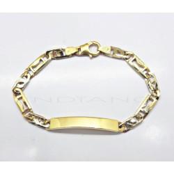 Esclava Oro Bicolor MacizaP007701573