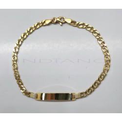 Esclava Oro Cadena OchosP013400724