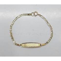Esclava Oro Bebe Cartier 3x1 LapidadaP021800067
