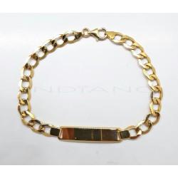 Esclava Oro Barbada HuecaP022400148