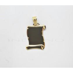 Chapa Oro Pergamino Pequeño BrilloP010300342