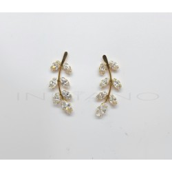 Pendientes Oro Trepadores RamilleteP022500515