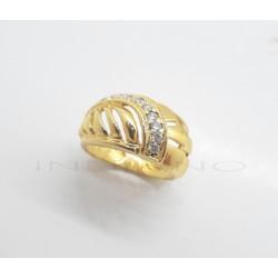 Sortija Oro Ancha Calada CirconitasP023000431