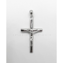 Colgante Plata Cruz Cristo RelieveP025100491