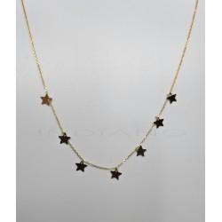 Gargantilla Oro Siete EstrellasP004201631