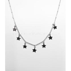 Gargantilla Plata Siete EstrellasP025100530