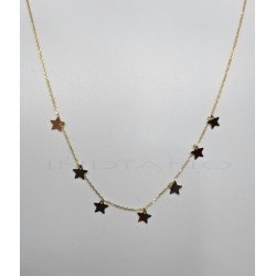 Gargantilla Oro Siete EstrellasP022400173
