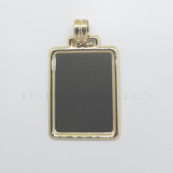 Chapa Oro Rectangular Marco LisoP010300094