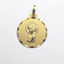 Medalla Oro Virgen NiñaP010300360