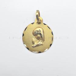 Medalla Oro Virgen NiñaP010300265