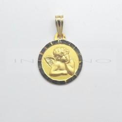 Medalla Oro Angel de la GuardaP010300361