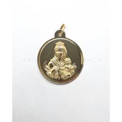 Medalla Oro Escapulario BrilloP010300345