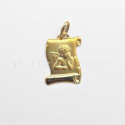 Medalla Oro Pergamino AngelitoP010300370