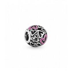 Charm Pandora Encanto de Corazón Rosa CFalado798677C01