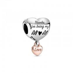 Charm Pandora Corazón Mamá788830C00