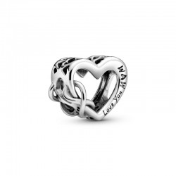 Charm Pandora Love You Mum Corazón Inifinito798825C00
