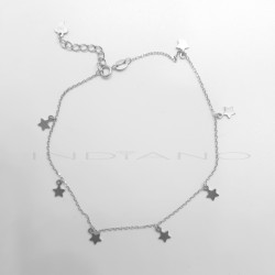 Tobillera Plata Siete EstrellasP026200277