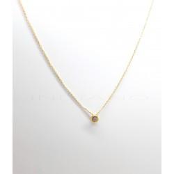 Gargantilla Oro Chatón CirconitaP004201605