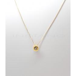 Gargantilla Oro Chatón CirconitaP022500520