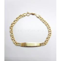 Esclava Oro Eslabón Hungaro0015500147