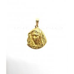 Medalla Oro Silueta MacarenaP010300149