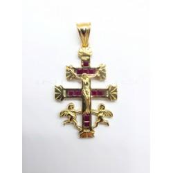 Cruz Oro Maciza RubiesP023001813