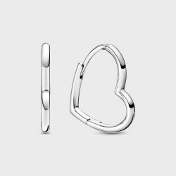 Pendientes Pandora de Aro Corazón Asimétrico298307C00