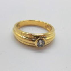 Solitario Oro Brillo Circonita BoquillaP005505728