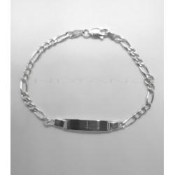 Esclava Plata Tipo Cartier 3x1P017800521