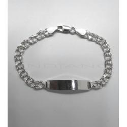 Esclava Plata Chapa Brillo Cadena HungaraP026200055