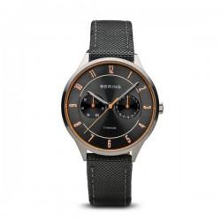 Reloj Bering Titanio Correa Piel11539-879