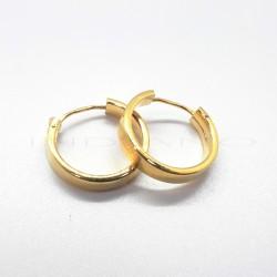Pendientes Oro Aro Cuadrado PequeñoP010200597