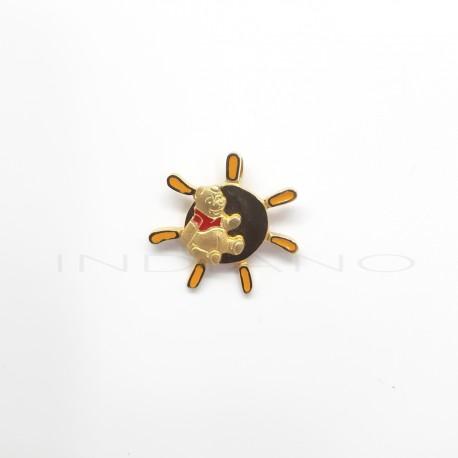 Colgante Oro Disney Winnie Pooh