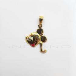 Colgante Oro Mickey Letra LP011001020