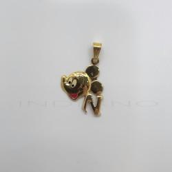 Colgante Oro Mickey Letra NP011001021
