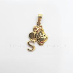 Colgante Oro Minnie Letra SP011001023