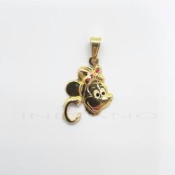 Colgante Oro Minnie Letra CP011001024