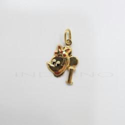 Colgante Oro Minnie Letra IP011001025